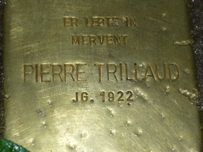 Plaque de Pierre Trillaud